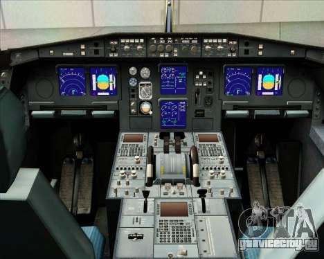 Airbus A340-313 Gulf Air для GTA San Andreas салон