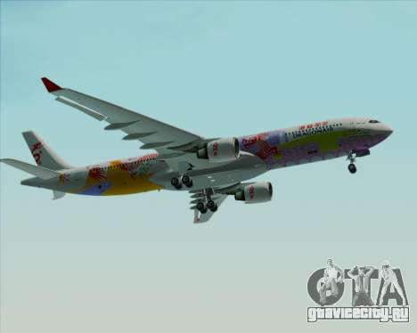 Airbus A330-300 Dragonair (20th Year Livery) для GTA San Andreas вид сверху