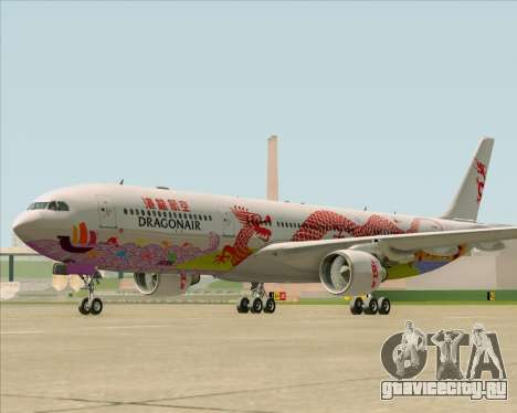 Airbus A330-300 Dragonair (20th Year Livery) для GTA San Andreas вид слева