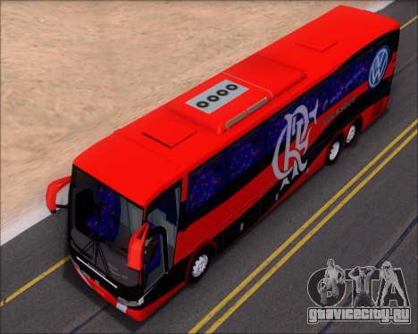 Busscar Elegance 360 C.R.F Flamengo для GTA San Andreas вид снизу