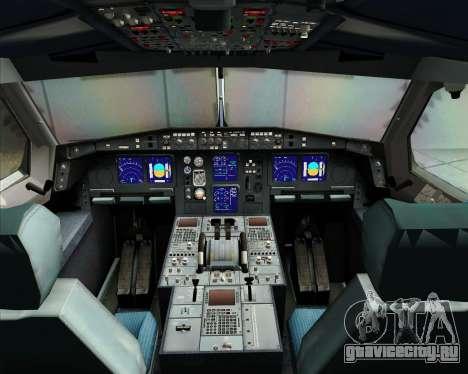 Airbus A340-313 Virgin Atlantic Airways для GTA San Andreas салон
