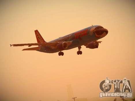 Airbus A320-214 TAM Airlines RIO для GTA San Andreas вид сбоку