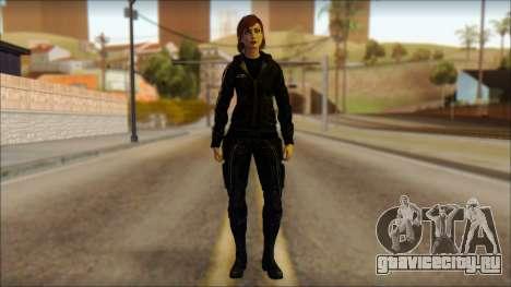 Mass Effect Anna Skin v10 для GTA San Andreas