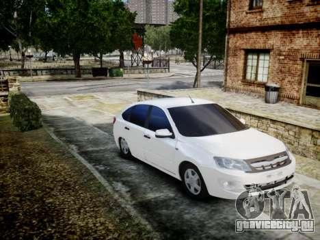 Lada Granta Liftback для GTA 4 вид слева