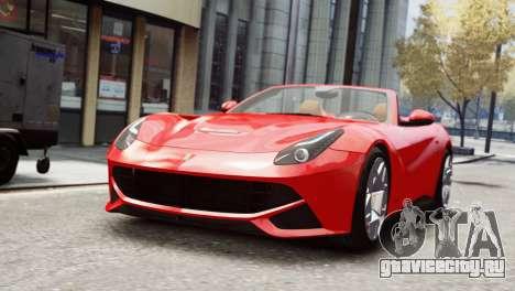 Ferrari F12 Roadster для GTA 4