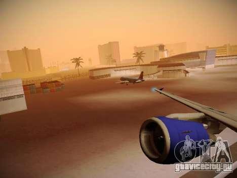 Airbus A320-214 TAM Airlines RIO для GTA San Andreas колёса