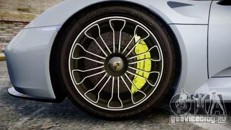 Porsche 918 Spyder 2015 для GTA 4 вид сзади