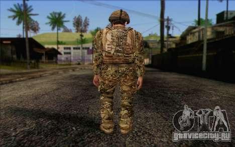 Британский солдат (ArmA II: BAF) v3 для GTA San Andreas второй скриншот