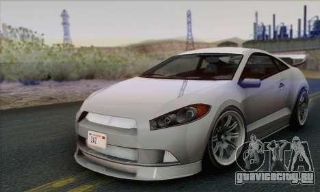 Maibatsu Penumbra 1.0 (HQLM) для GTA San Andreas вид справа