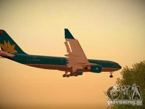 Airbus A330-200 Vietnam Airlines для GTA San Andreas салон