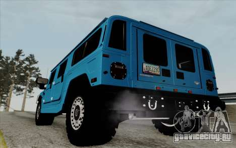Hummer H1 Alpha 2006 Road version для GTA San Andreas вид справа