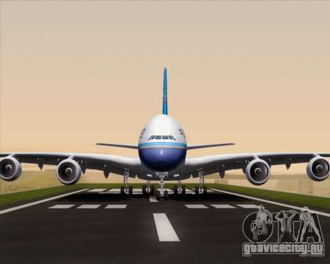 Airbus A380-841 China Southern Airlines для GTA San Andreas вид сбоку