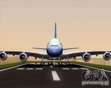 Airbus A380-841 China Southern Airlines для GTA San Andreas вид сбоку