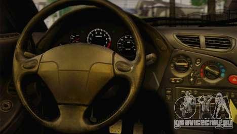 Mazda RX-7 Drift для GTA San Andreas вид сзади слева