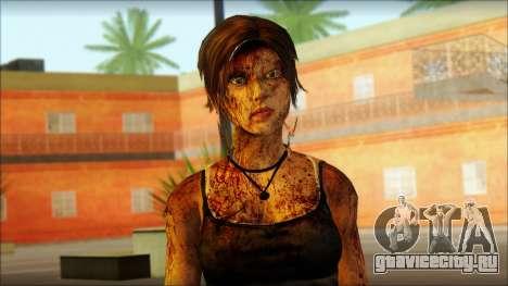 Tomb Raider Skin 13 2013 для GTA San Andreas третий скриншот