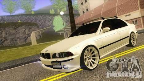 BMW M5 E39 2003 Stance для GTA San Andreas вид слева