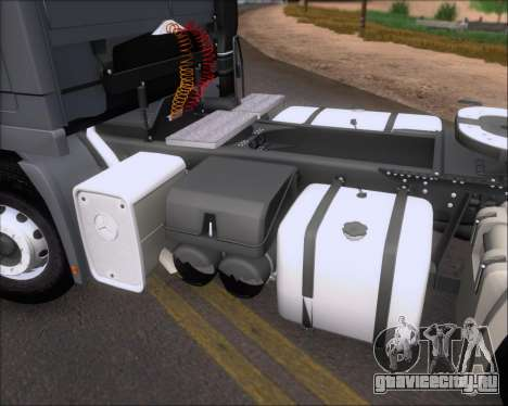 Mercedes-Benz Actros 3241 для GTA San Andreas вид снизу