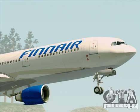 Airbus A330-300 Finnair (Old Livery) для GTA San Andreas вид сбоку