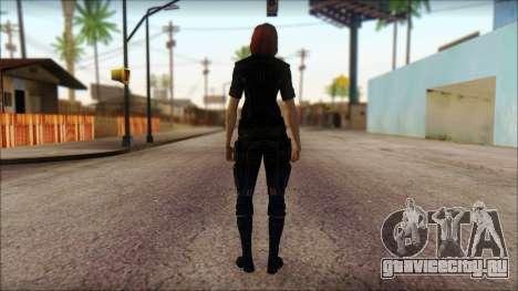 Mass Effect Anna Skin v4 для GTA San Andreas второй скриншот