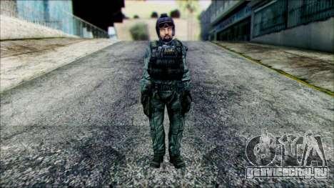 Боец (PLA) v4 для GTA San Andreas