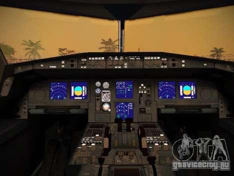 Airbus A340-600 Virgin Atlantic New Livery для GTA San Andreas колёса