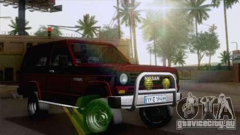 Nissan Patrol 2 Door для GTA San Andreas