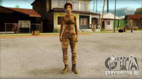 Tomb Raider Skin 10 2013 для GTA San Andreas