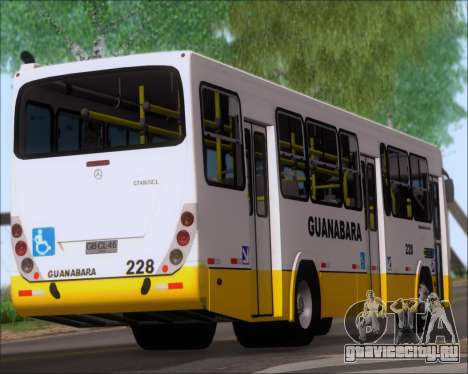 Marcopolo Torino G7 2007 Mercedes-Benz OF-1722M для GTA San Andreas вид снизу