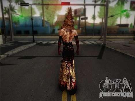 Pyramid Head From Silent Hill: Homecoming для GTA San Andreas второй скриншот