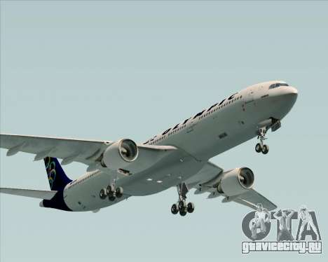 Airbus A330-300 Olympic Airlines для GTA San Andreas вид сзади