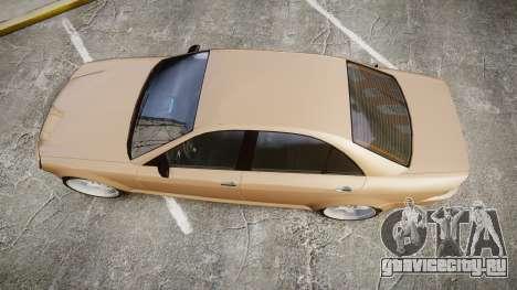 Schafter AMG для GTA 4 вид справа