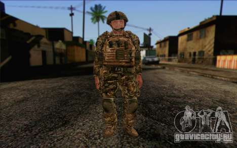 Британский солдат (ArmA II: BAF) v3 для GTA San Andreas