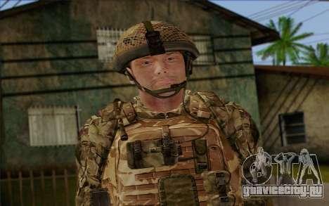 Британский солдат (ArmA II: BAF) v3 для GTA San Andreas третий скриншот