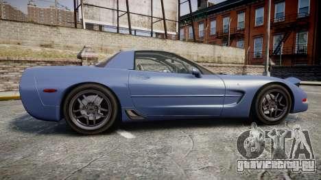Chevrolet Corvette Z06 (C5) 2002 v2.0 для GTA 4 вид слева