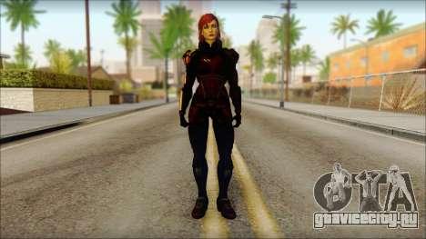 Mass Effect Anna Skin v2 для GTA San Andreas