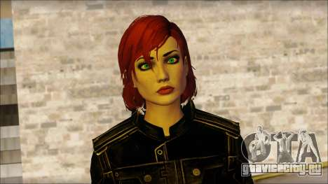 Mass Effect Anna Skin v4 для GTA San Andreas третий скриншот