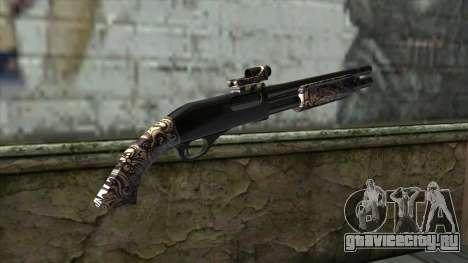PurpleX Shotgun для GTA San Andreas второй скриншот