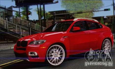 BMW X6M 2013 v3.0 для GTA San Andreas