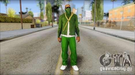 New CJ v5 для GTA San Andreas