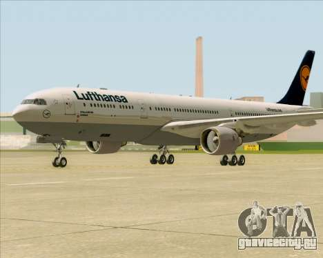 Airbus A330-300 Lufthansa для GTA San Andreas вид слева