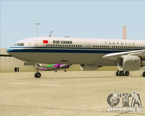 Airbus A330-300 Air China для GTA San Andreas вид сбоку