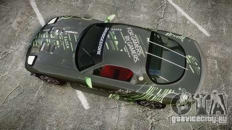 Mazda RX-7 Razer для GTA 4 вид справа