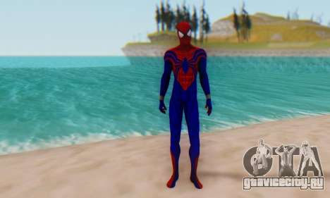 Skin The Amazing Spider Man 2 - Ben Reily для GTA San Andreas второй скриншот