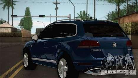Volkswagen Touareg 2012 для GTA San Andreas вид слева