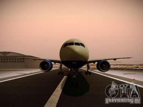 Boeing 777-212ER Transaero Airlines для GTA San Andreas колёса