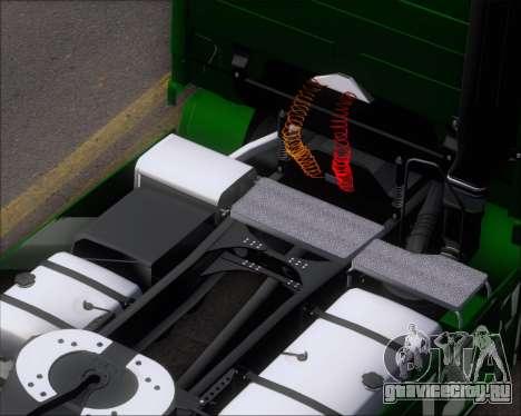 Mercedes-Benz Actros 3241 для GTA San Andreas вид сверху