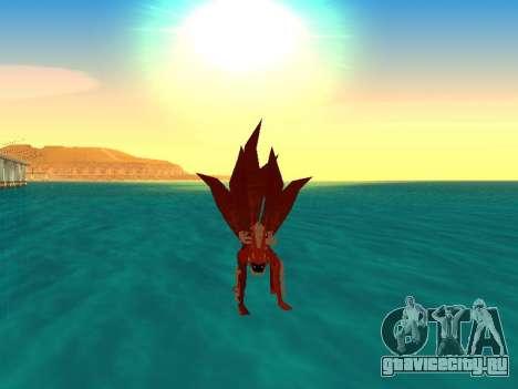 Трансформация Kyubi для GTA San Andreas четвёртый скриншот