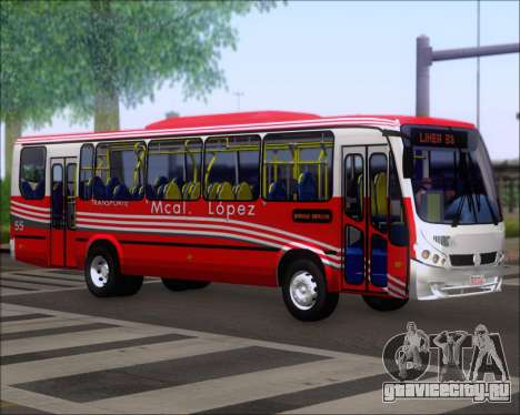 Neobus Spectrum Linea 38 Mcal. Lopez для GTA San Andreas