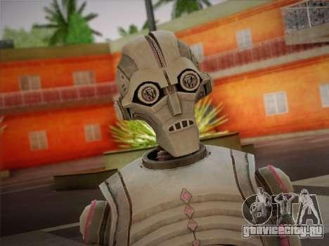 Kraang Robot для GTA San Andreas третий скриншот