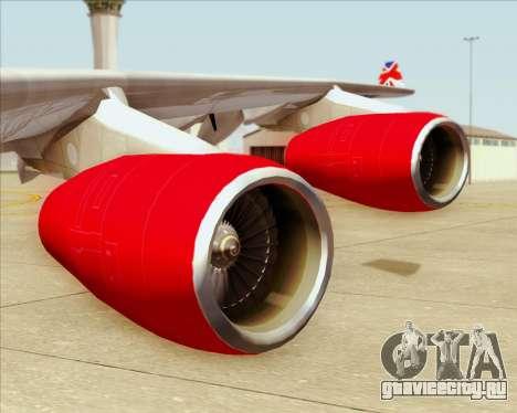 Airbus A340-313 Virgin Atlantic Airways для GTA San Andreas